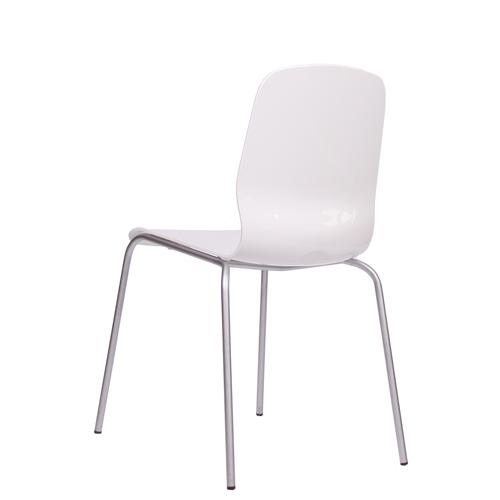 Kovová židle plastová GLAMOUR