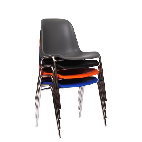 Kovová plastová židle PAULA