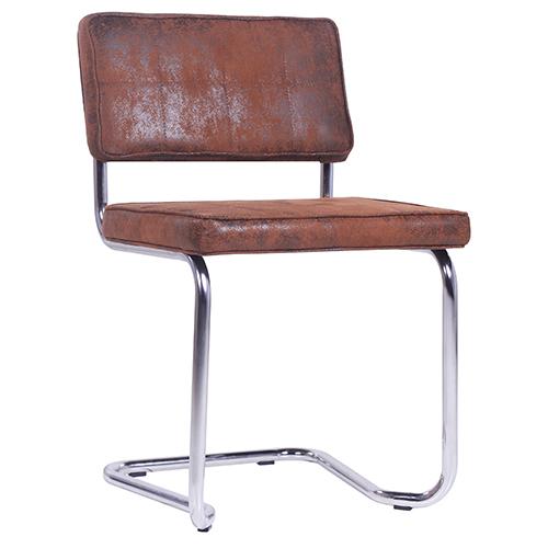 Kovová jednací židle do kanceláře