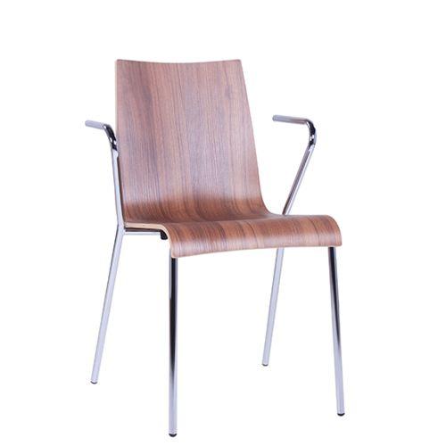 Kovová  židle ROMAN AL možnost stohování
