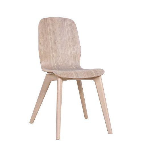 Židle MILU WOOD bělený dub