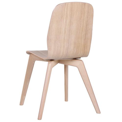 Dřeěvné bistro design židle