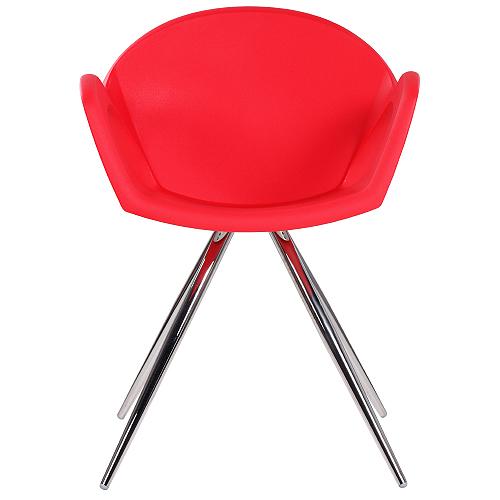 Kovové dizajnové židle plastové