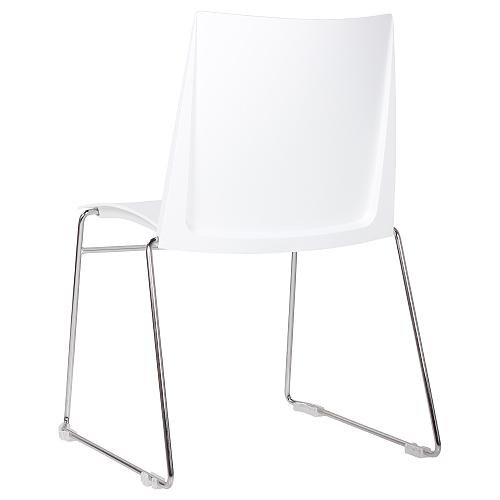 Stohovatelné kovové židle