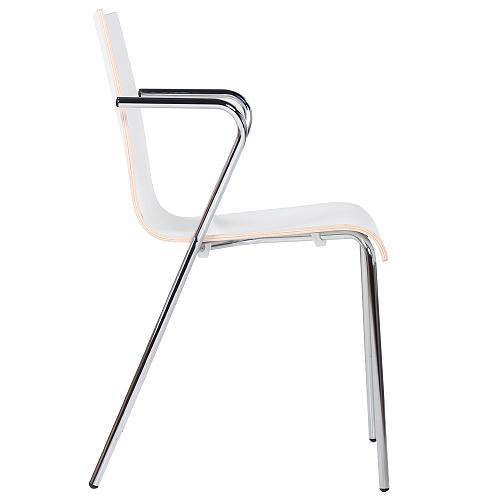 kovové židle do čekáren