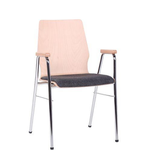 Skořepinové židle ARKO SP s loketní opěrkou
