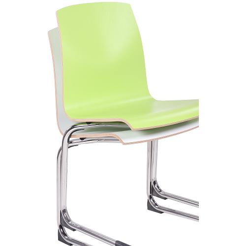 bistro HPL skořepinové židle