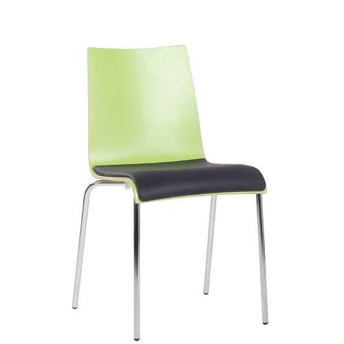 Kovová  židle ROMAN HPL SP čalouněný sedák