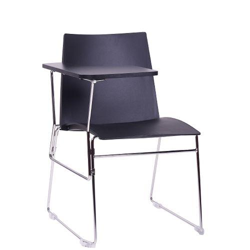 Kovové židle ARIS SEMINAR pro praváky s psací podložkou sklapovací odnímatelnou