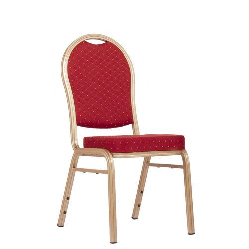 Židle pro bankety SAPHIR červená