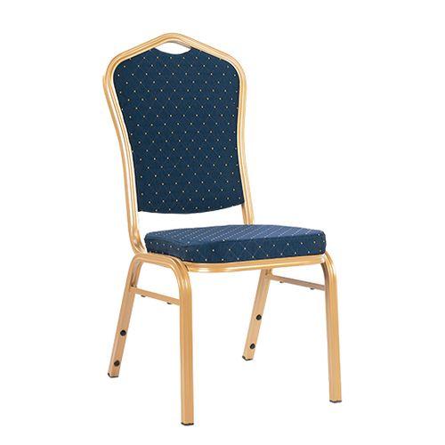 Židle pro bankety TOPAS modrá