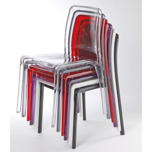 Plastové design stoličky