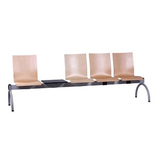 Kovové lavice do čekárny se stolem COMBISIT TC44T