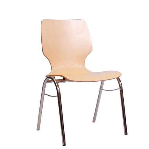 Kovové jednací židle