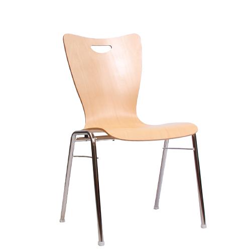 Kovová židle pro jednací místnosti