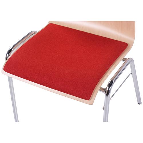 Kovové konferenční židle čalouněný sedák