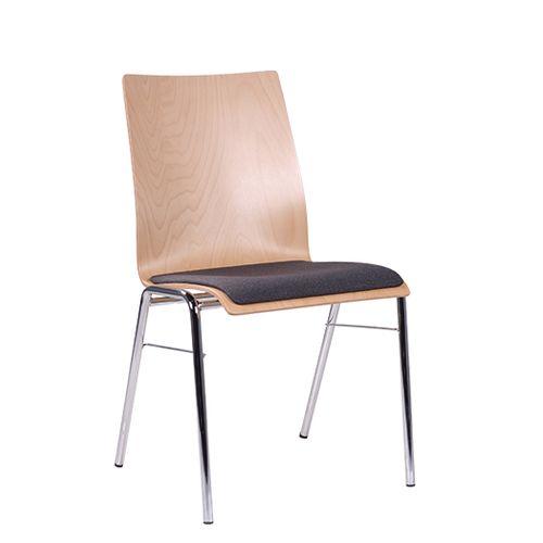 Levné kovové jednací židle