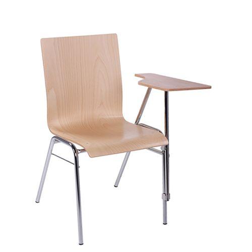 COMBISIT SEMINAR EL SP kovové židle s psací podložkou
