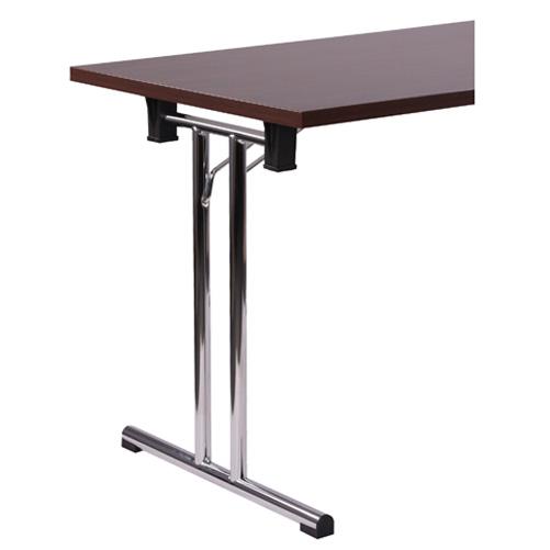 Kovový skládací stůl