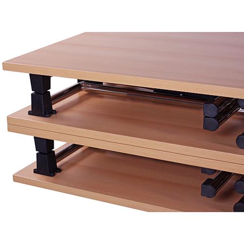 Konferenčné stoly so sklopným mechanismom
