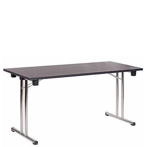 Skládací stoly FT 147-25K pro konference černá barva
