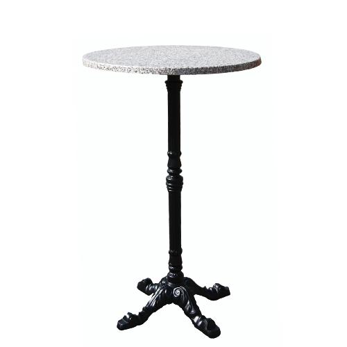 Kovový barový stůl LEON 4 BAR TOPALIT BG  D60-26