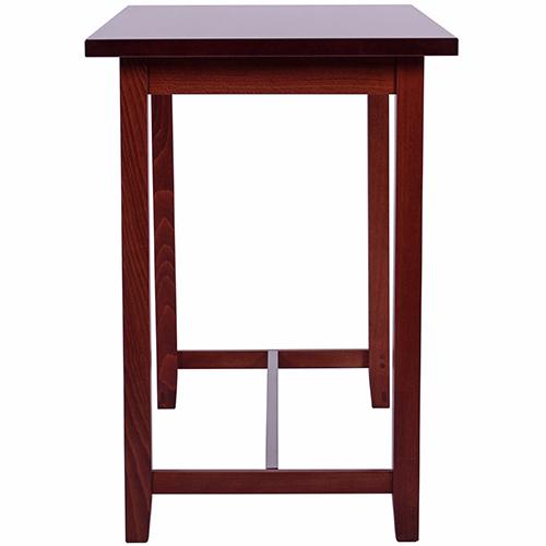 Jedálenské barové drevené stoly.
