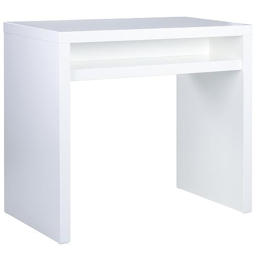 Barové stoly s poličkou
