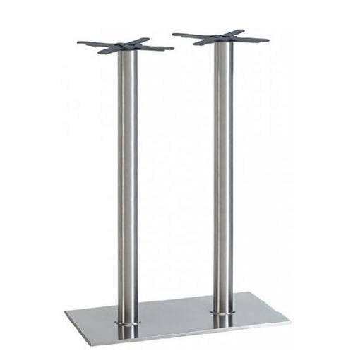 Kovové nohy k barovému stolu RIANO DUO CR H chromované
