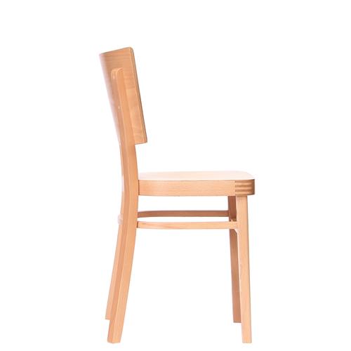 ŽIdle s dřevěným sedákem