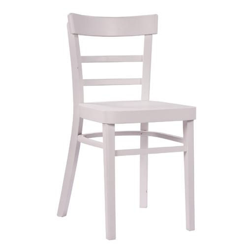 Dřevěná jídelní židle.