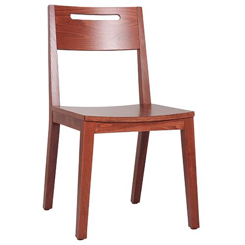Dřevběné židle bistro