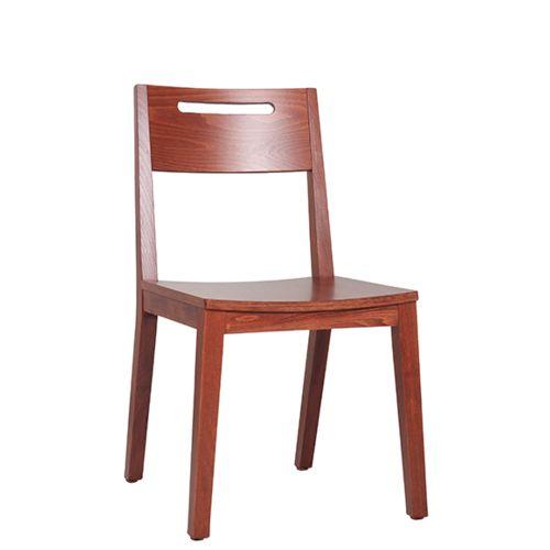 Židle FIN G pro restaurace a bistra otvor pro uchopení