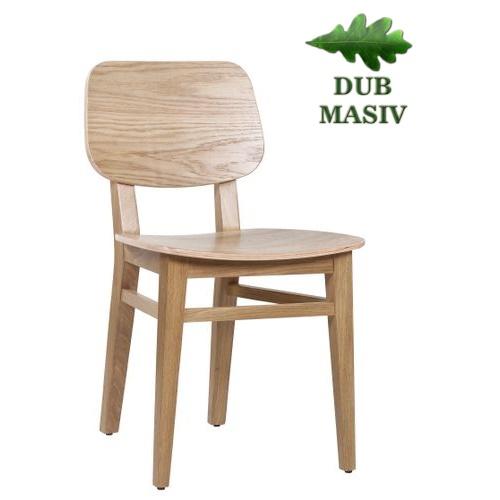 Vlastnosti výrobku bistro židle OLIVER z dubového dřeva