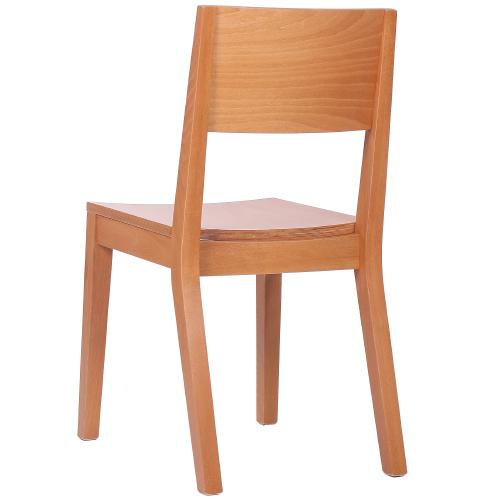 Drevěné reštauračné stoličky