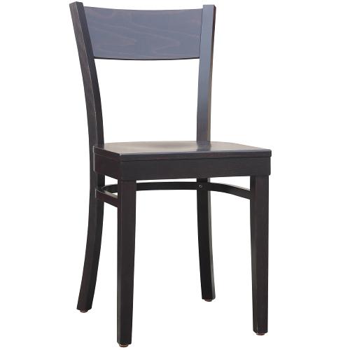 Dřevěné ohýbané židle do restaurace