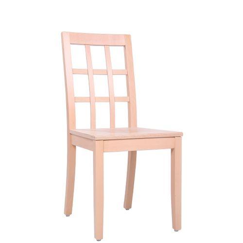 Dřevěné židle do restaurace ALEXIA SD s odolnou konstrukcí
