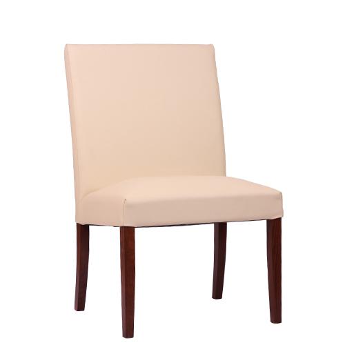 Dřevěná čalouněná židle THEA UNO lavice