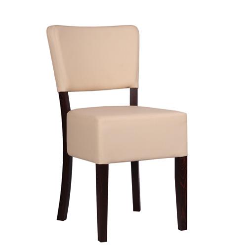 Dřevěná židle čalouněná MAREN