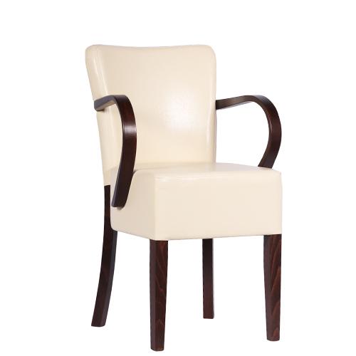 Dřevěná židle čalouněná TANJA AL S
