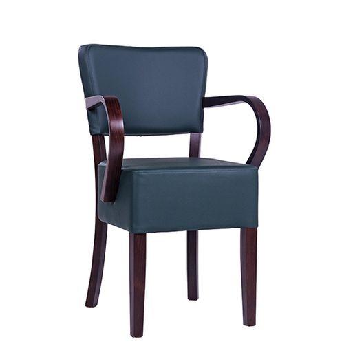 Dřevěná židle čalouněná TILO AL S