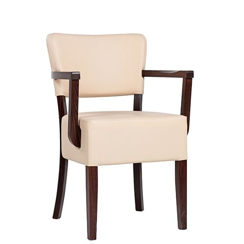 Dřevěné židle čalouněné TILO XL AL E širší sedák