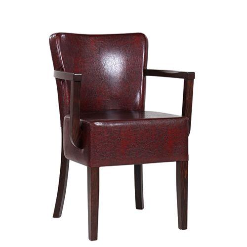 Dřevěné židle čalouněné TANJA XL AL E širší sedák
