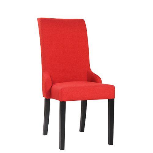 Čalouněné židle MARTA s rozšířeným opěradlem