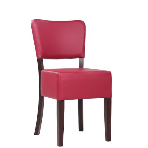Dřevěná židle čalouněná TILO