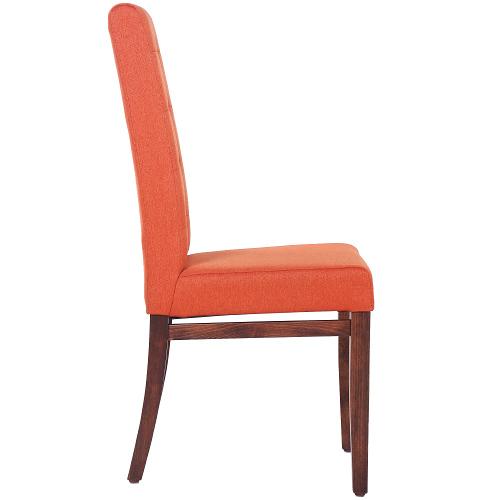 čalouněné židle s prošitím