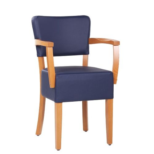 Dřevěná židle čalouněná TILO AL E