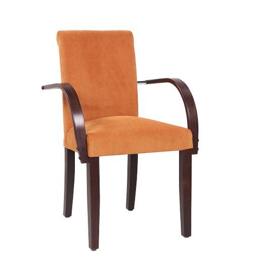 Dřevěná židle čalouněná GELA