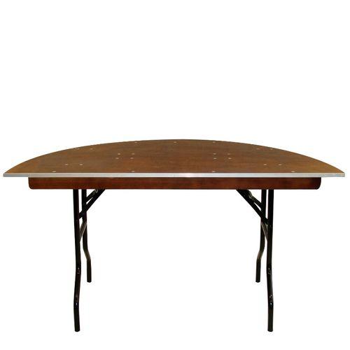 Stoly pro bankety MHR půlkulaté