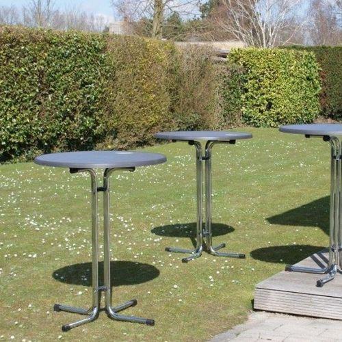 Kovové barové stoly sklapovacia pre bankety